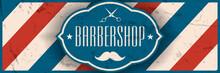 Old School Barbershop Horizont...