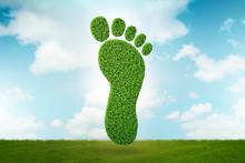 Carbon Footprint Concept - 3d ...