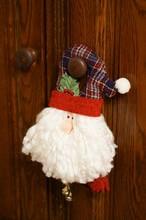 Closeup Shot Of A Santa Cabine...