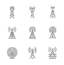 5G Cell Towers And Antennas Pi...