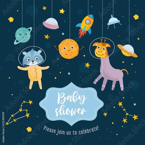 Photo Baby Shower card
