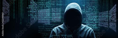 Obraz Hacker - Cyber Kriminalität - fototapety do salonu