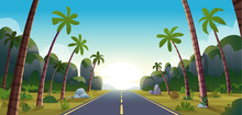 Long Road Among The Jungle. Hi...