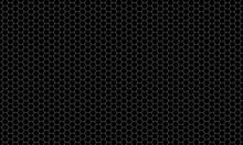 Dark Metal Hexagon Mesh Patter...