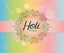 Happy Holi Colorful Posters Wi...