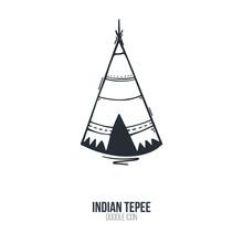 Native North American Teepee I...