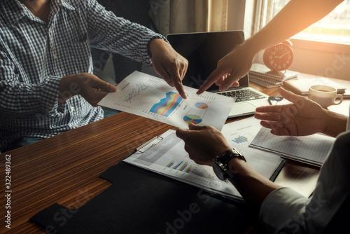 Valokuva Collaborate between Professional Businessman and Partnership