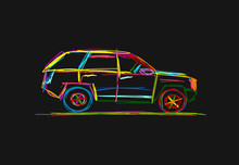 Tuned SUV, Sketch For Your Des...