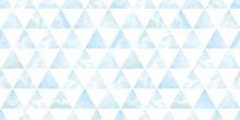 Watercolor Geometric Background. Seamless Pattern.Vector. 水彩幾何学パターン