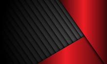 Abstract Red Metallic Dark Shu...