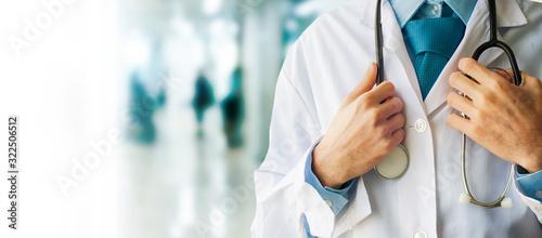 Fotografiet Healthcare and Medicine concept. Doctor