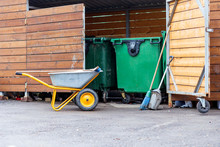 Broom, Container, Barn, Cart, ...