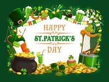 St Patricks Day Vector Shamroc...