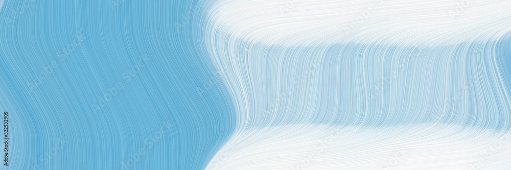 colorful designed horizontal header with lavender, sky blue and corn flower blue colors. dynamic curved lines with fluid flowing waves and curves