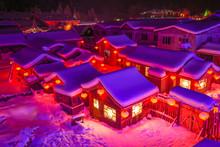 China Snow Village