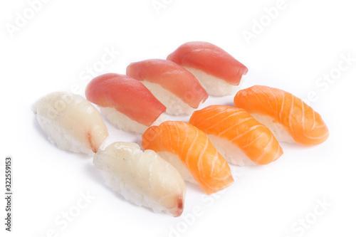 Photo sushi mixte