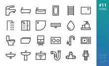 Sanitary Ware And Plumbing Ico...