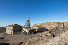 View Of The Old Disused Mine H...