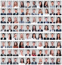 Portraits Of A Group Of Succes...