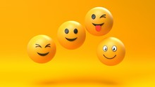 Emoji Emoticon Character Background