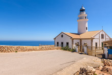 The Capdepera Lighthouse Locat...