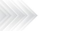 White Arrow Abstract Background For Presentation Design. Horizontal Landscape Orientation.