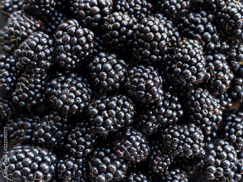 Fotografia, Obraz Fresh juicy organic dewberry
