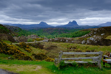 The Mountain Of Suilven Lochinver Assynt Sutherland Scotland