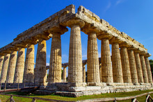 The Greek Temple Of Neptune In...