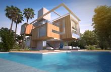 Exotic Contemporary Home