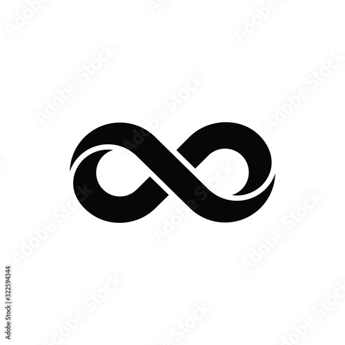 Stampa su Tela infinity outline icon