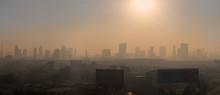 Panoramic Of Sun Rise Bangkok ...