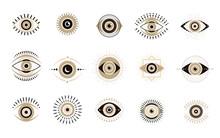 Evil Eyes Collection. Contempo...