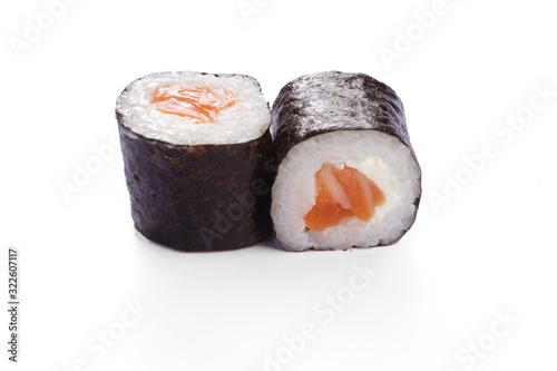 Fototapeta maki saumon fromage obraz