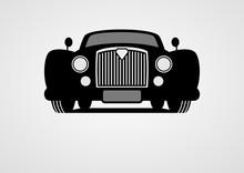 Generic Retro Car Silhouette F...