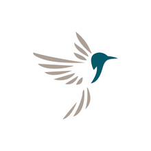 Hummingbird Corporate Logo. Bi...