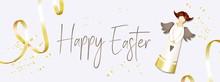 Easter Banner. Horizontal Post...