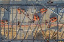 Workers Constructing Steel Com...