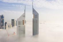 Aerial View Of Buildings Surro...