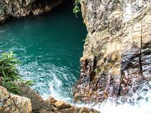 Blue Well Waterfall