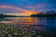 Sunset On Lake Natoma