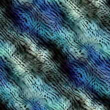 Fuzzy Animal Fur Blue Navy Ind...