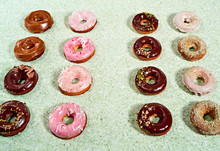 Rows Of Donuts