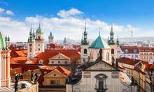 Prague Czech Republic. View At...