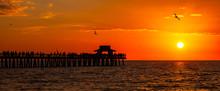 Naples Sunset Seascape