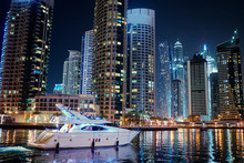 Big City Lights. Night Citysca...