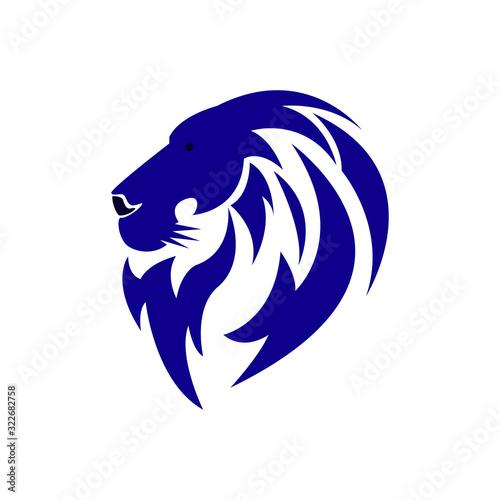 Fototapety, obrazy: Lion head logo icon