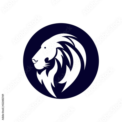 Fototapety, obrazy: Lion head logo icon