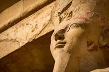 Ramesses II Statue Face In Egypt