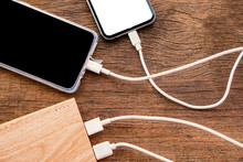 Two Smart Phone Charging With ...